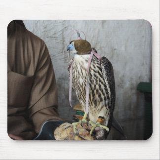 鷹狩の《鳥》ハヤブサのmousepad マウスパッド