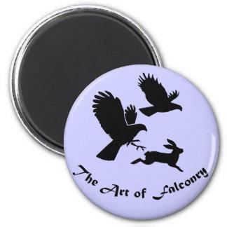 鷹狩-ハリスのタカの芸術 マグネット