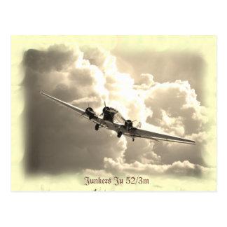 麻薬常習者Ju 52/3m ポストカード