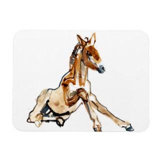 黄土色の子馬 マグネット