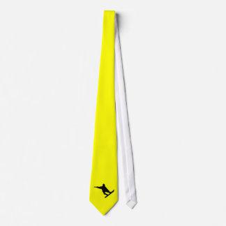 黄橙色のスノーボード オリジナルタイ