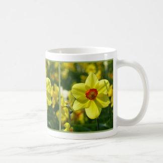 黄橙色のラッパスイセン02.1.2.g コーヒーマグカップ