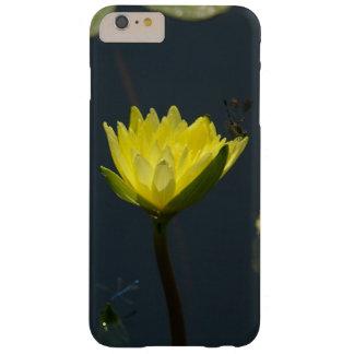 黄色いはす《植物》スイレンおよびイトトンボ BARELY THERE iPhone 6 PLUS ケース