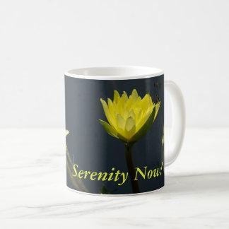 黄色いはす《植物》スイレン コーヒーマグカップ