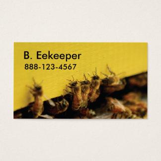 黄色いはちの巣の蜂 名刺