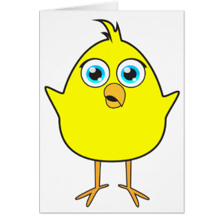 黄色いひよこ カード