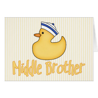 黄色いアヒルの中間の兄弟 カード