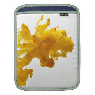 黄色いインク低下のファインアートの写真撮影 iPad 用スリーブ