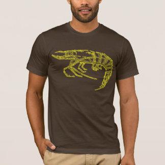 黄色いエビ Tシャツ