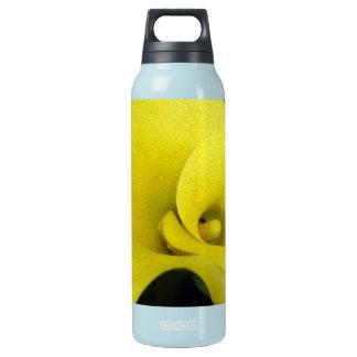 黄色いオランダカイウユリ 断熱ウォーターボトル