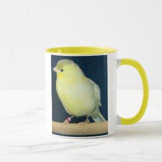 黄色いカナリア色のマグ マグカップ