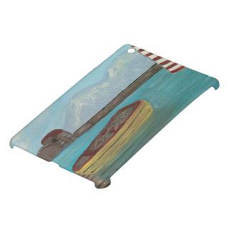 黄色いカヌーのiPad Miniケース iPad Miniケース