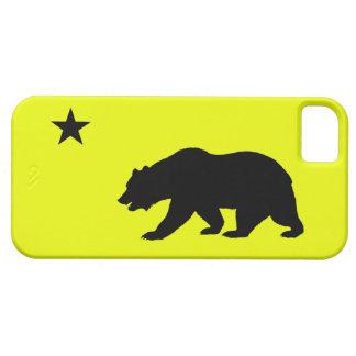 黄色いカリフォルニアiPhone 5の箱 iPhone SE/5/5s ケース