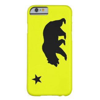 黄色いカリフォルニアiPhone 6の箱 Barely There iPhone 6 ケース