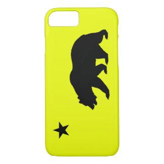 黄色いカリフォルニアiPhone 7の箱 iPhone 8/7ケース