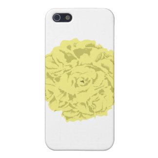 黄色いカーネーションの花 iPhone 5 ケース