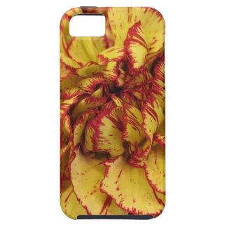 黄色いカーネーションiphone5の箱 iPhone SE/5/5s ケース