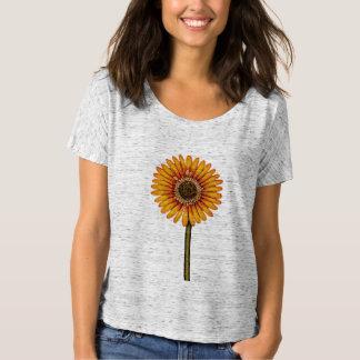 黄色いガーベラ Tシャツ