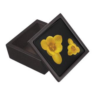 黄色いクロッカスの優れたギフト用の箱 ギフトボックス