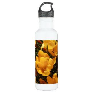 黄色いクロッカス ウォーターボトル