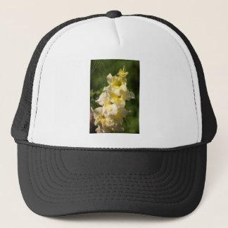 黄色いグラジオラスの花のスパイク キャップ