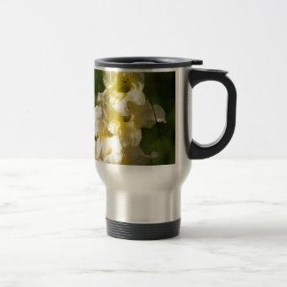 黄色いグラジオラスの花のスパイク トラベルマグ