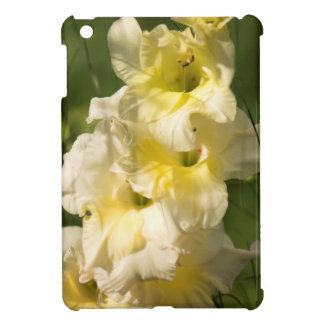 黄色いグラジオラスの花のスパイク iPad MINIケース