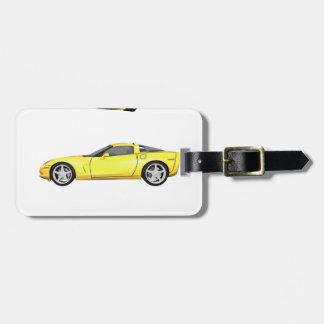 黄色いコルベット: ラゲッジタグ