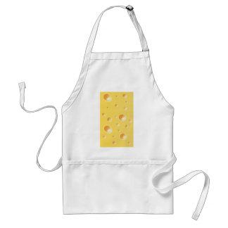 黄色いスイスチーズの質 スタンダードエプロン