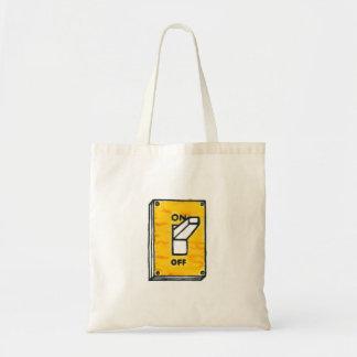 黄色いスイッチトートバック トートバッグ