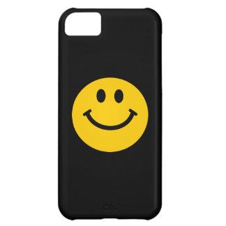 黄色いスマイリーフェイス iPhone5Cケース