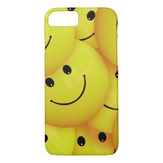 黄色いスマイリーフェイス iPhone 8/7ケース