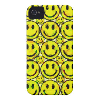 黄色いスマイリー Case-Mate iPhone 4 ケース