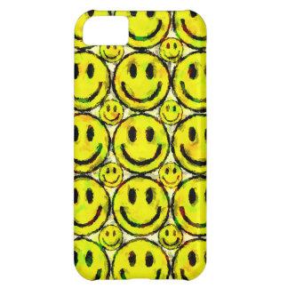 黄色いスマイリー iPhone5Cケース