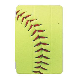 黄色いソフトボールの球 iPad MINIカバー
