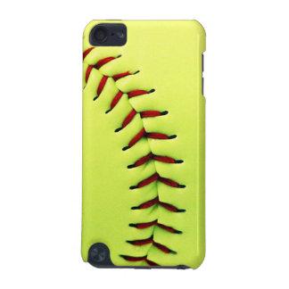 黄色いソフトボールの球 iPod TOUCH 5G ケース