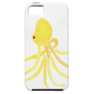黄色いタコ iPhone SE/5/5s ケース
