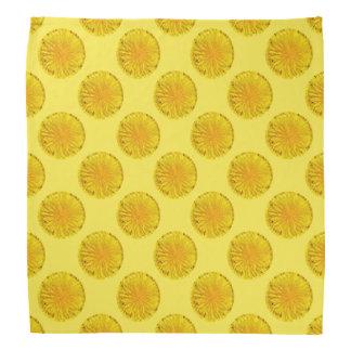 黄色いタンポポの花の写真の点0560 バンダナ