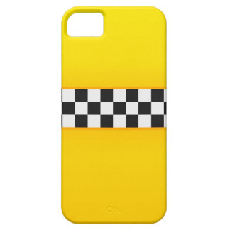 黄色いチェッカーボードパターン iPhone SE/5/5s ケース