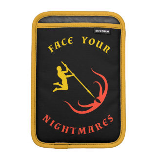黄色いチャンピオン対赤い触手 iPad MINIスリーブ