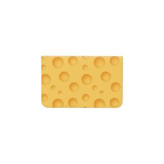 黄色いチーズパターン 名刺入れ