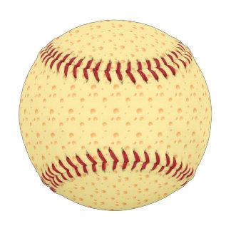 黄色いチーズ一見 野球ボール