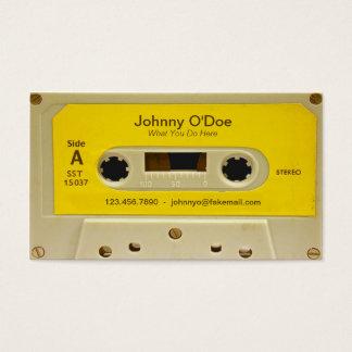 黄色いテープ 名刺