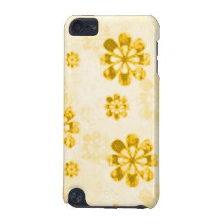 黄色いデイジーのグランジなSpeckの場合 iPod Touch 5G ケース