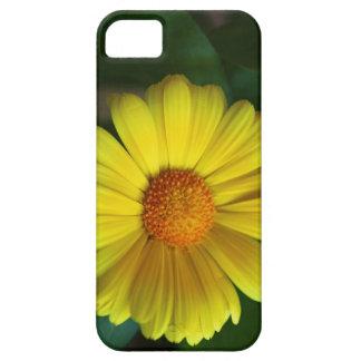 黄色いデイジー iPhone SE/5/5s ケース