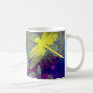 黄色いトンボ コーヒーマグカップ