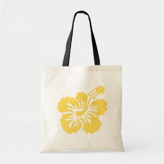 黄色いハイビスカスの花16 トートバッグ