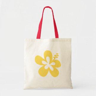 黄色いハイビスカスの花17 トートバッグ
