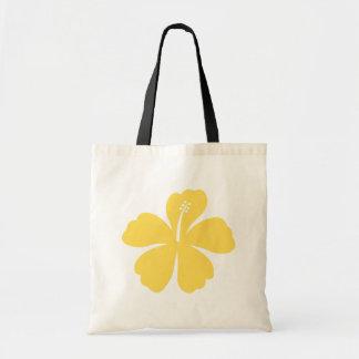 黄色いハイビスカスの花19 トートバッグ