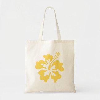 黄色いハイビスカスの花7 トートバッグ